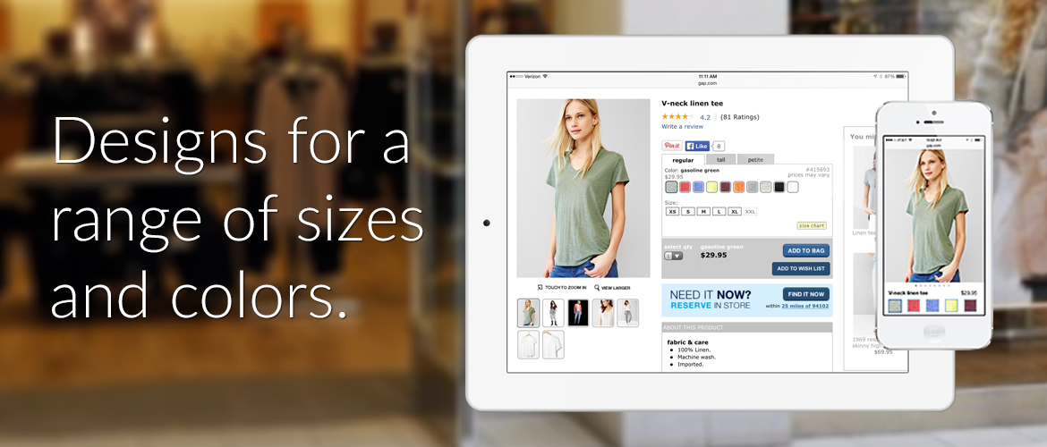 Gap Inc E-commerce and Mobile POS